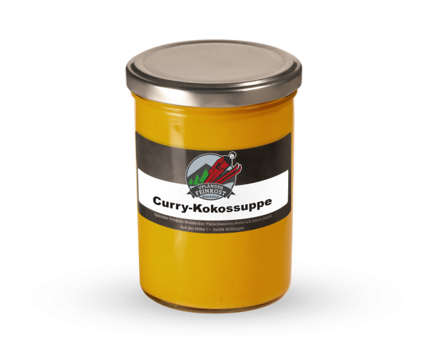 Curry Kokos Suppe *vegetarisch*