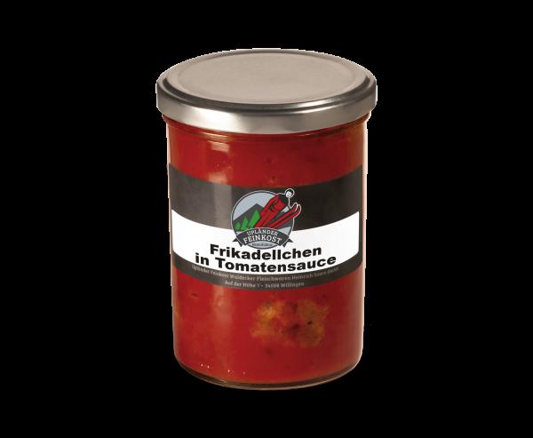 Frikadellchen in Tomate (5 Stück)